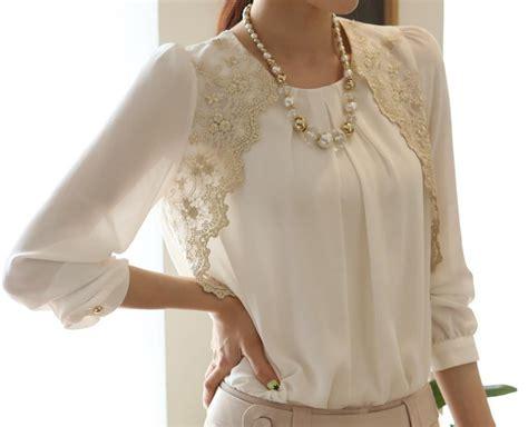 womens lace tops blouses 2015 fashion elegent blouses lace hollow out