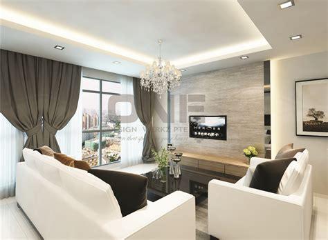 Grey Living Room Hdb by Hdb Living Dining