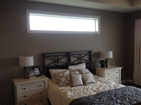 Bedroom Vs Window by The Thin Window Above The Bed Opaque Window