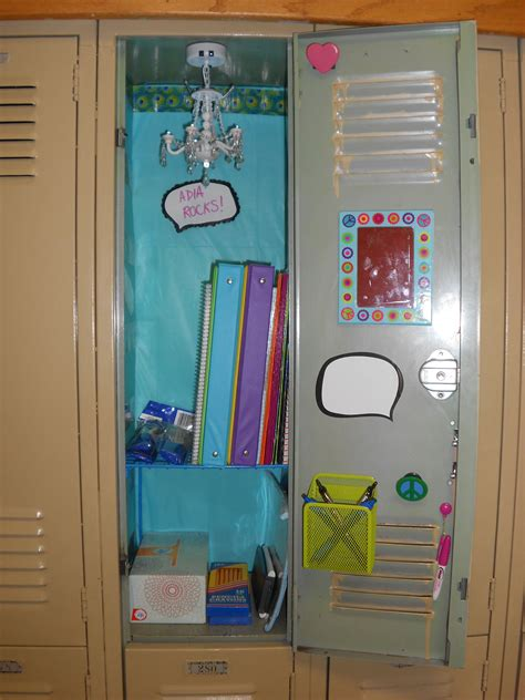 DIY Locker Decorations Ideas