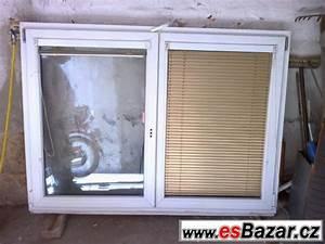 Rozbité plastové okno