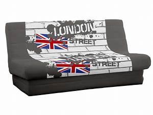 Housse De Clic Clac But : housse pour clic clac 140cm london vente de housse de ~ Dallasstarsshop.com Idées de Décoration
