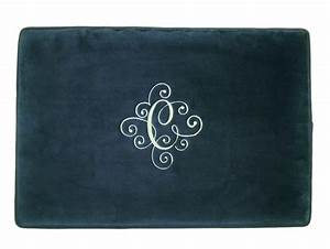 personalized mat bath rug bathroom monogrammed wedding gift With custom bathroom rugs