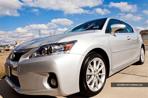 lexus ct200 hybrid 2011 lexus ct 200h premium hybrid