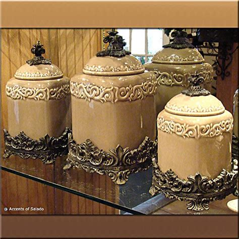 Style Kitchen Canister Sets by These Canisters Great In A Country Or Tuscan
