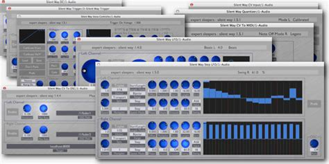 Expert Sleepers Silent Way, Plugin Suite For Analog