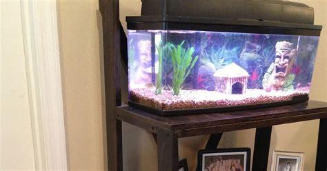 The Tank Bookcase by Tiny Pink Ribbon Custom Fish Tank Bookcase