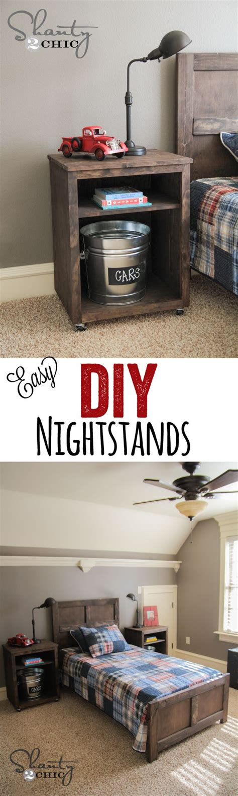 Cute And Easy Diy Nightstands… Love These! Wwwshanty2