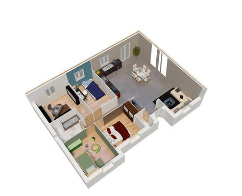 plan cuisine ouverte sur salon plan cuisine ouverte sur salon plan maison plain pied
