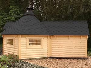 Gartenhaus Mit Aufbauservice : grillkota mit saunaanbau schwarz von wolff finnhaus ~ Whattoseeinmadrid.com Haus und Dekorationen