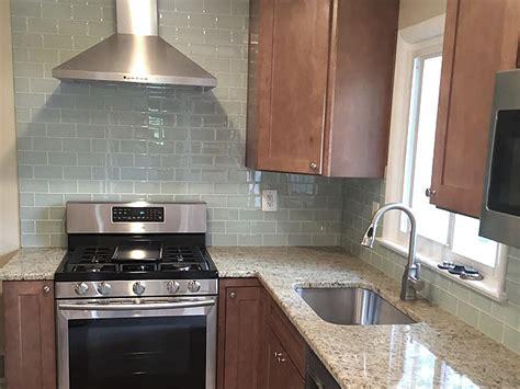 kitchen tiles pics giallo ornamental granite countertop with white subway 3350
