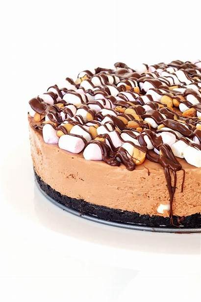 Rocky Road Cheesecake Bake Chocolate Recipe Australia