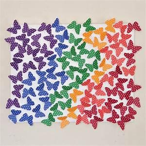 Diy butterfly canvas art dream a little bigger