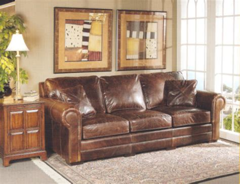 rustic brown leather sofa brown distressed leather sofa wonderful rustic leather