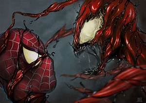 CARNAGE vs SPIDEY by JoelAmatGuell on DeviantArt