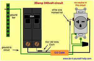 Double 30 Amp Breaker Wiring Diagram