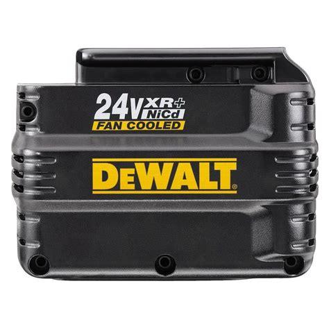 24 volt batterie dewalt 24 volt xr pack fan cooled extended run time battery dw0242 the home depot
