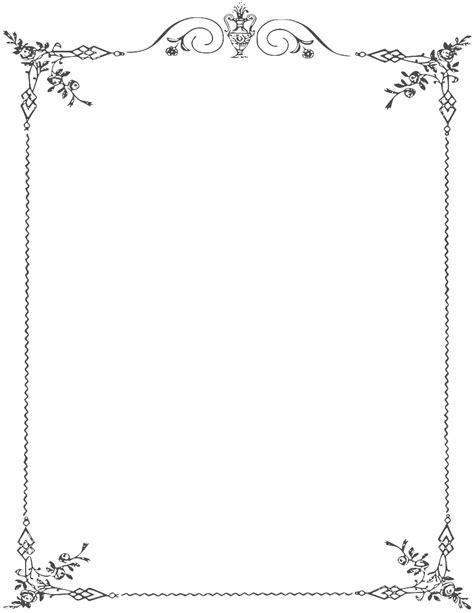 white border frame png clipart  designing