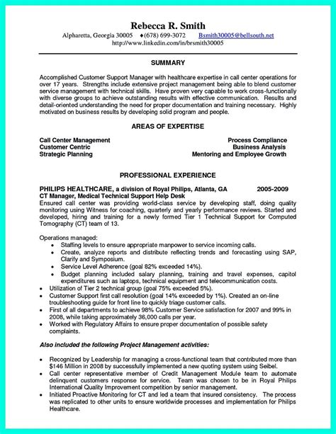 Csr Resume by Objective For Resume Customer Service Representative 2