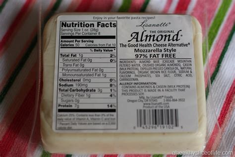 almond cheese cheese for the non dairy eater a healthy slice of life
