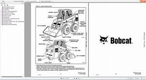 Bobcat Loader 863 Service Manuals