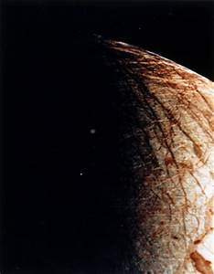 Close up of Europa, one of the moons of Jupiter, 1979. at ...