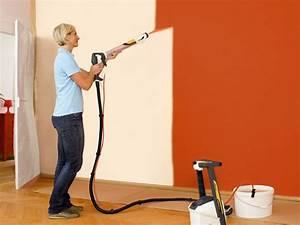Wandfarbe Zum Sprühen : farbspr hger te farbe spr hen statt streichen ~ Orissabook.com Haus und Dekorationen