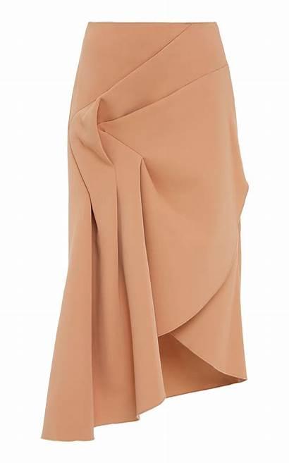 Dresses Skirt Ruched Midi Redwood Skirts Acler