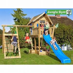 Maisonnette En Bois Sur Pilotis : maisonnette en bois sur pilotis jungle gym bah ri ~ Dailycaller-alerts.com Idées de Décoration