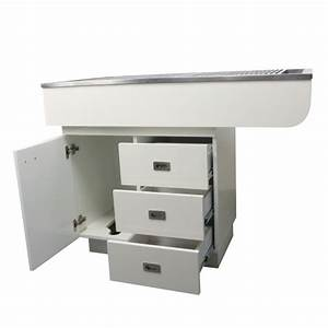 Dental Preparation Table With Stainless Steel Tub And