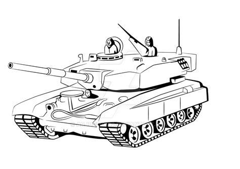 abrams tank drawing  getdrawingscom