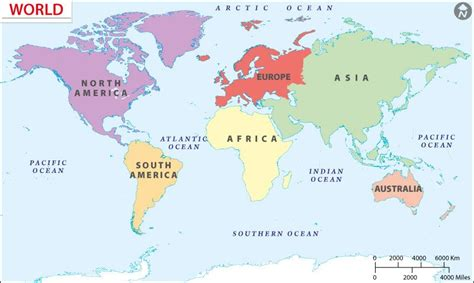 world map continents google search early societies