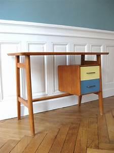 Bureau Scandinave Enfant : petit bureau scandinave solveig vintage kids ~ Teatrodelosmanantiales.com Idées de Décoration