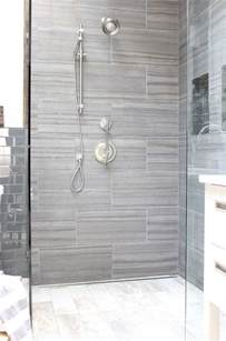 Gray Bathroom Tile Ideas 40 Gray Shower Tile Ideas And Pictures