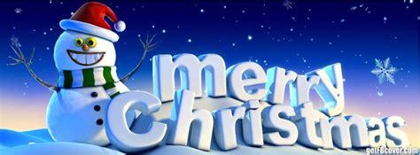 merry christmas happy snowman facebook cover photo fbcover com