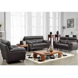 8049 modern leather living room sofa set by noci design