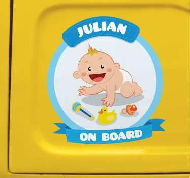 Stickers Bébé à Bord,nos modèles - TenStickers