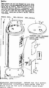 Kenmore 183325511 Electric Water Heater Parts