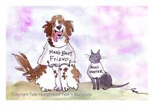 Funny Birthday Dog Cartoon