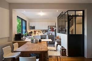 verriere et cloison atelier d39artiste pour une cuisine ou With cuisine style atelier artiste