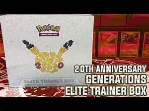 Pokémon Cards - INSANELY EPIC Generations Elite Trainer ...