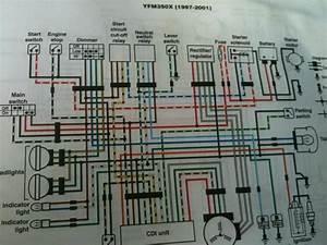 Diagram  Yamaha Big Bear 350 Wiring Diagram