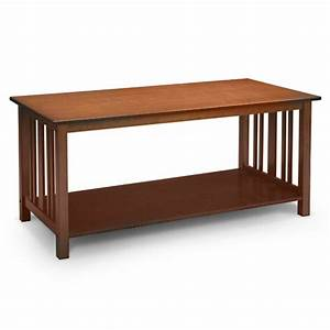mission style coffee table light oak furniture walmartcom With mission style coffee table sets