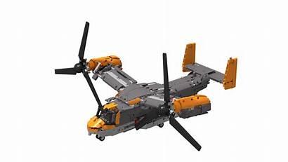 V22 Osprey Boeing Bell Factory Moc Lego