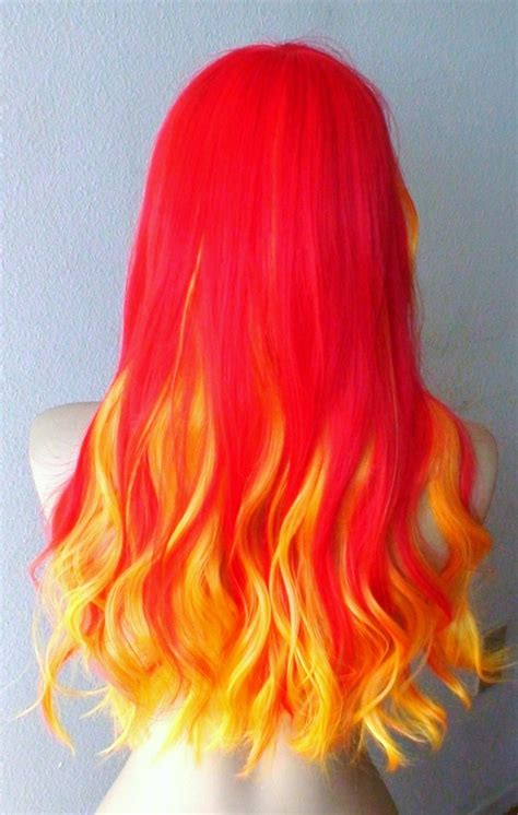 A Month In Hair Colors Today Shades Of Fire The