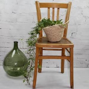Chaise Bistrot Vintage : chaise bistrot ancienne de style baumann en bois clair ~ Teatrodelosmanantiales.com Idées de Décoration
