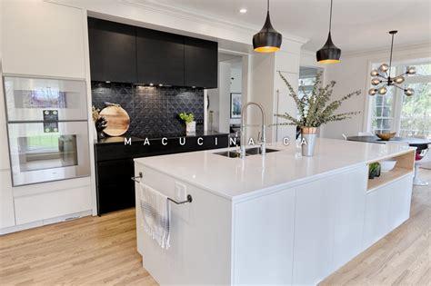 tendence cuisine cuisines tendances armoires de cuisine à laval