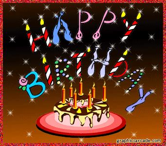 animated glittery happy birthday gif pictures