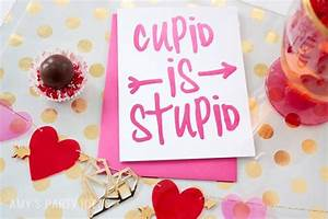 Cupid is Stupid - Girls' Night In | Amy's Party Ideas