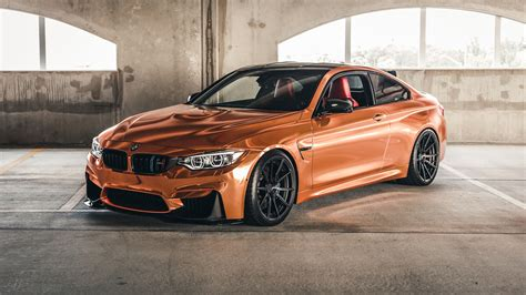 Rose Gold Bmw M4 On Velos S10 1 Pc Forged Wheels